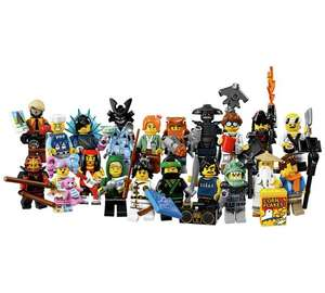 Lego Ninjago Movie Figures £1.29 @ Argos