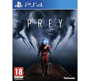 Prey PS4 or Xbox One 11.99 @ Argos