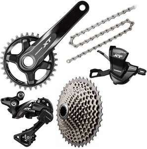 Shimano XT 1x11 Drivetrain Groupset £224.99 @ Chain reaction cycles