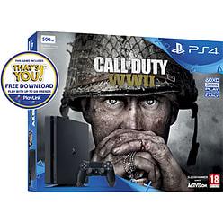 *Black Friday* GAME PlayStation 4 500GB with COD: WWII + GT Sport + Hidden Agenda + Overwatch GOTY/Destiny 2/Crash Bandicoot and NOW TV Bundles