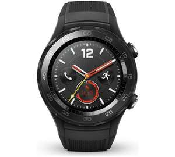 Huawei Watch 2 4G Sport Smart Watch - Black £209 @ Argos