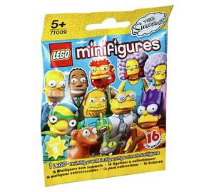 Lego Simpsons Minifigures - £0.99 at Argos - Free C&C