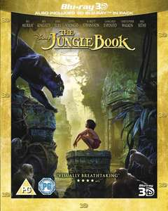 The Jungle Book (2016) (3D + 2D ) [Blu-Ray] £7.99 @ Zoom