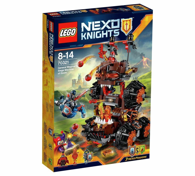LEGO Nexo Knights General Magmars Siege Machine - 70321 - £9.99 @ Argos (C&C)