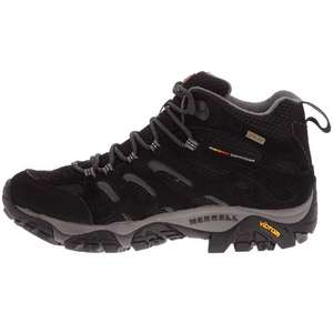 Merrell Men's Moab Mid Gore-Tex High Rise Hiking Boots - £62 @ Amazon