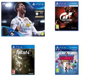 SONY PlayStation 4 Slim & FIFA 18 + PLAYSTATION 4 Fallout 4 - for PS4 + SONY Gran Turismo Sport + SONY Knowledge is Power