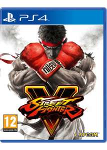 Street Fighter V PS4 free delivery at Base.com for £10.99