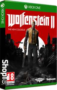 Wolfenstien 2 new collossus £19.85 @ ShopTo