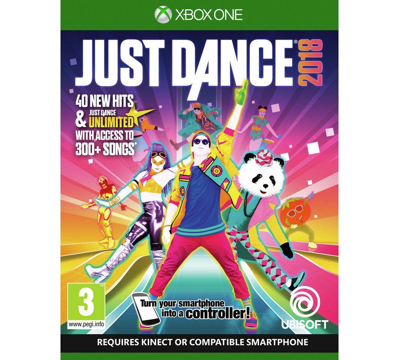 JUST DANCE 2018 XBOX ONE & PS4 @ ARGOS £21.99