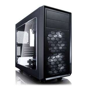 Fractal Design Black Focus G Mini Micro ATX PC Gaming Case @ Scan