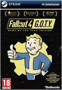 [Steam] Fallout 4 Game of the Year Edition - £15.99 - Game