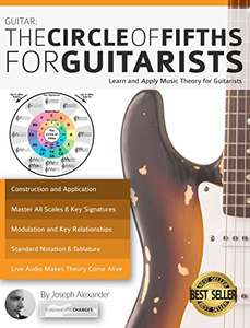 Guitar: The Circle of Fifths for Guitarists: Learn and Apply Music Theory for Guitarists [Kindle Edition ] £0.00 @ Amazon (ends 27/11/17)
