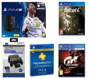 SONY PlayStation 4 Pro, Fifa18, GT Sport & Fallout - £259.99 - PC World