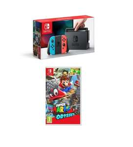 Black Friday **Back at 3pm With Physical copy of the game!** Nintendo Switch Super Mario Odyssey  £279.99 @ Amazon