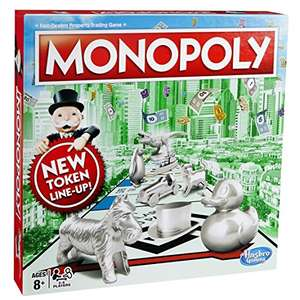 Hasbro Gaming Monopoly Classic Game for £11.82 @ Amazon.co.uk