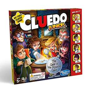 Hasbro Cluedo Junior Game £8.53 prime / £13.28 non prime @ Amazon