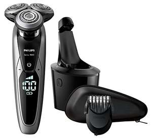 Philips Series 9000 Wet and Dry Men's Electric Shaver S9711/31 with SmartClean Plus System & Beard Trimmer - Amazon Exclusive £149.99