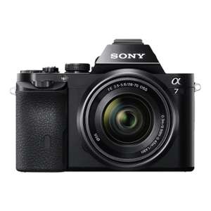 Sony A7 with 28-70mm (and other cameras) reduced on Amazon + Cashback now £619