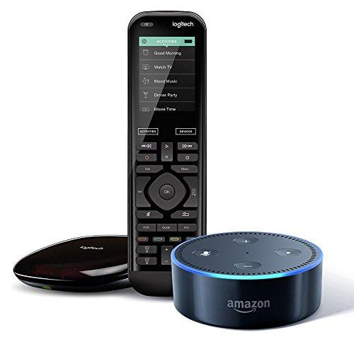 Logitech Harmony Elite with Hub and Echo Dot 2nd Gen £149 @ Amazon