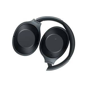 Sony MDR-1000X Wireless Bluetooth Noise Cancelling Ambient Sound Touch Sensor High Resolution Audio Headphones - Black at Amazon for £189.99