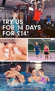David Lloyd Clubs - 14 days for £14