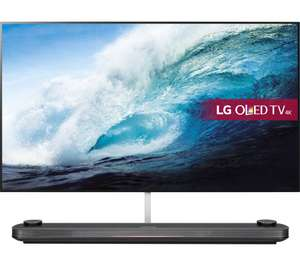 "LG Signature OLED65W7V 65"" Smart 4K Wallpaper OLED TV - £4499.10 with code TV10 @ Currys"