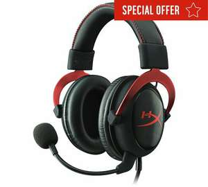 HyperX Cloud II Gaming Headset - £49.99 (possibly £44.99 with 10% Barclays Cashback) @ Argos