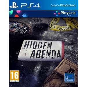 HIDDEN AGENDA [PS4] £9.99 @ TheGameCollection