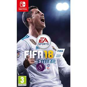 FIFA 18 Nintendo Switch £29.95 Game Collection Black Friday
