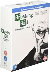Breaking Bad: The Complete Series [Blu-ray & UV] [Region Free] at Amazon for £29.99
