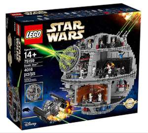 Lego Death Star 75159 20% off at Lego's store online plus quidco 11% plus free minifigure and xmas bonus gift