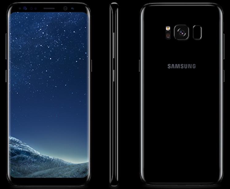 Samsung galaxy s8 £27 per month £20 upfront @ Vodafone