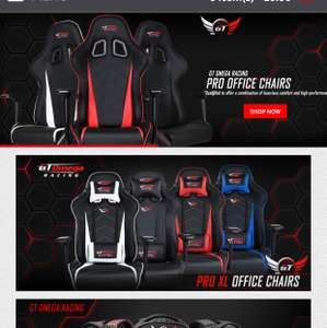 GT Omega Racing Office Gaming chairs