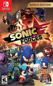 Sonic Forces Bonus Edition Nintendo Switch £26.89 - Amazon Global Store
