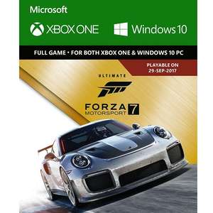 Forza 7 Ultimate (digital Xbox One Play Anywhere) at Amazon for £44.99