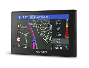 Garmin DriveSmart 50LMT-D Satellite Navigation with Western Europe Lifetime Maps and Traffic 5 inch, Black £95.99 @ Amazon