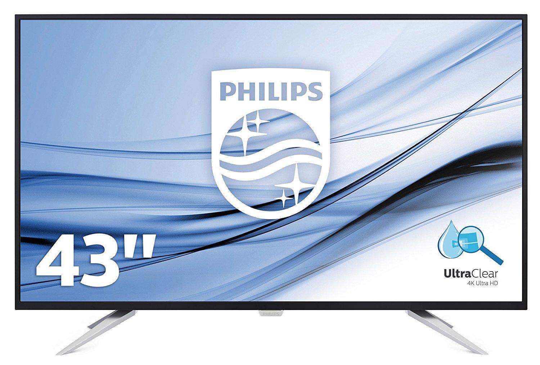 """Philips BDM4350UC/00 43"""" 4K UHD Display Monitor £361.49 - Amazon"""