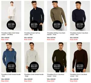 50% off all products extended (men's and women's clothing - including sale items) @ Brand Attic