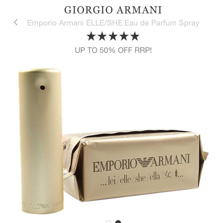 Emporio Armani Elle/She Eau de Parfum Spray at Escentual for £30