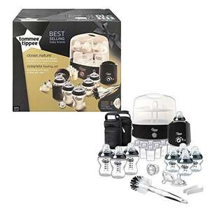 *** Tommee Tippee Complete Feeding Set (Black, Closer to Nature) - AMAZON *** £59.99
