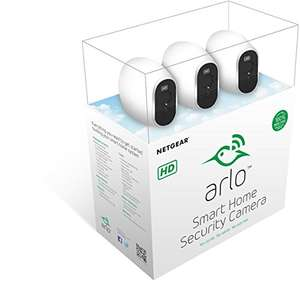 Netgear Arlo 3 HD Security Camera Kit at Amazon for £185.99
