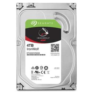 "Seagate IronWolf  4TB 3.5"" NAS Hard Drive £96.96 @ Ebuyer"