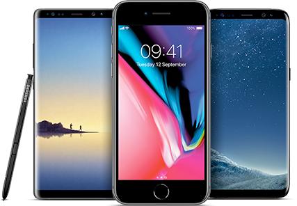 Iphone X £64/24 26GB UK Data MobilePhones Direct