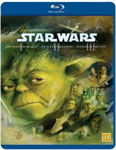 Star Wars: Episode 1-3 (3 Disc Blu-Ray) £14.99 Delivered @ Coolshop