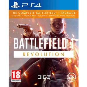 Battlefield 1 Revolution PS4 £19.99 @Smyths