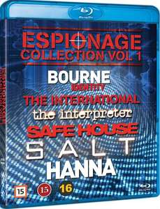 Espionage Collection: Vol 1 (Blu-Ray) £9.99 Delivered @ Coolshop