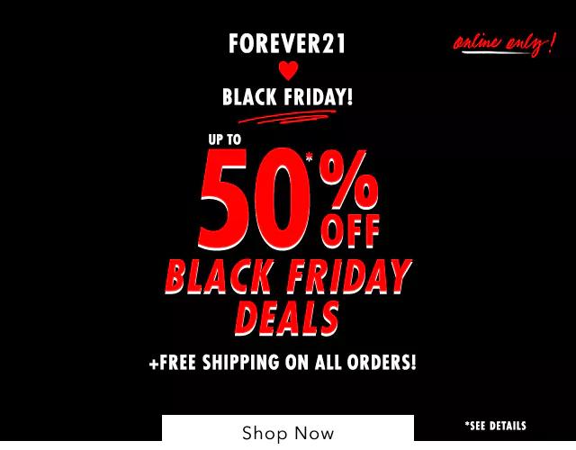 Forever21 upto 50% off
