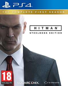 Hitman Steelbook Edition PS4  £18.49 (Prime) / £20.48 (non Prime) at Amazon