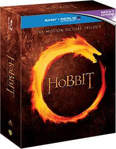 The Hobbit Blu Ray Trilogy £10.49 (Prime) / £12.48 (non Prime) at Amazon