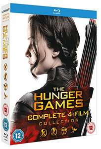 The Hunger Games - Complete Collection [Blu-ray] 4 films £11.19 (Prime) / £13.18 (non Prime) at Amazon